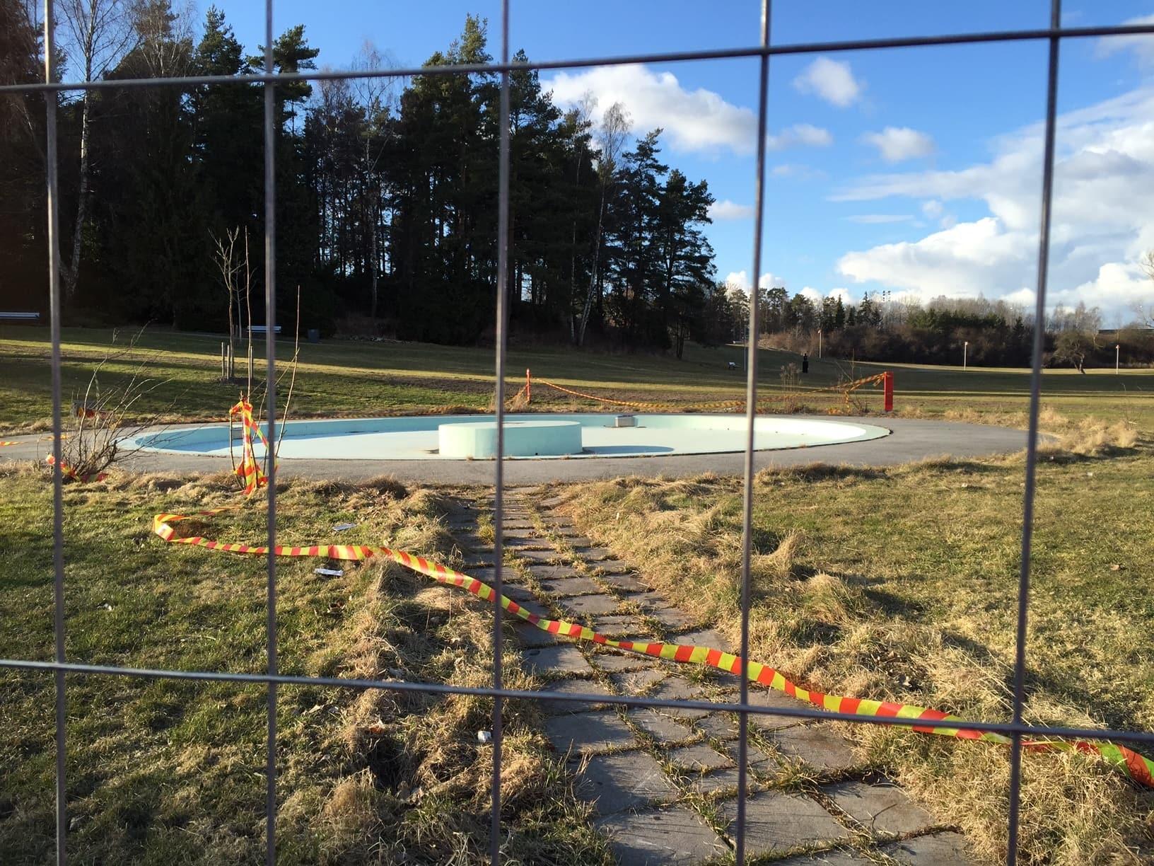 Blästring pool näsby park allblästring 02