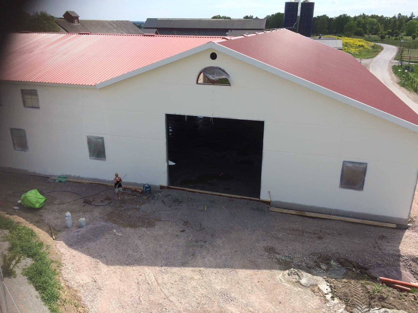 Allblästring Jälla gård målning betong betongytor blästring uppsala 04