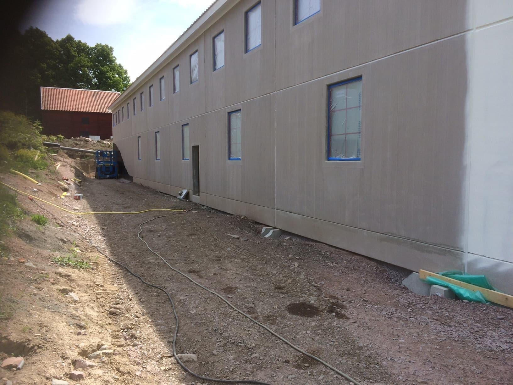 Allblästring Jälla gård målning betong betongytor blästring uppsala 05