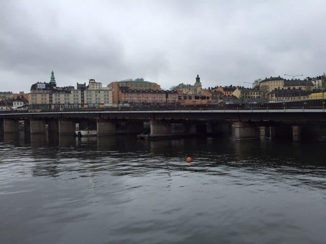 Spongeblästring Söderströmsbron