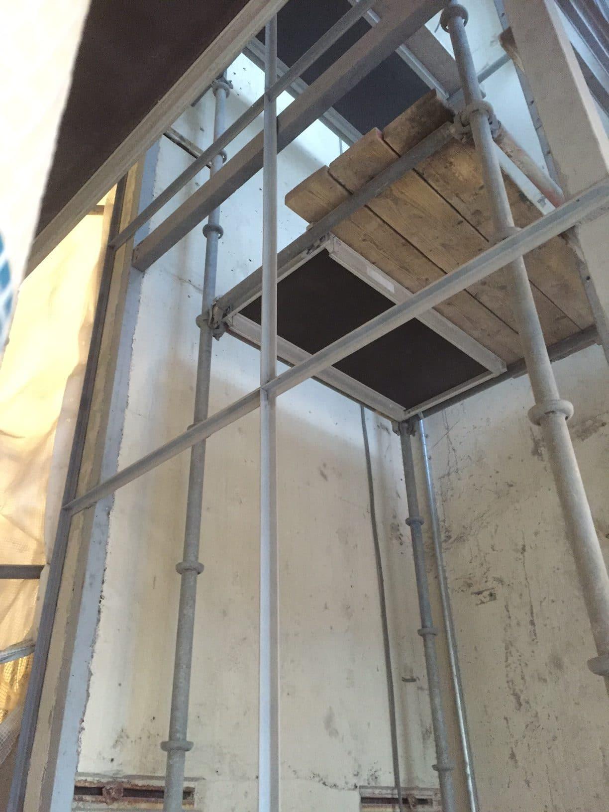 hiss sankt eriksplan vulcanusgatan allblästring blästring målning hisskonstruktion trafikkontoret 06