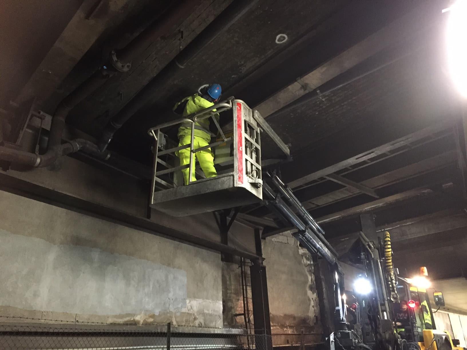 Skyddsskrotning betong slussen gamla stan allblästring 02
