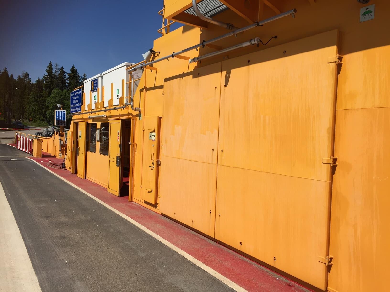 Allblästring Embla trafikverket färjor blästring målning 01