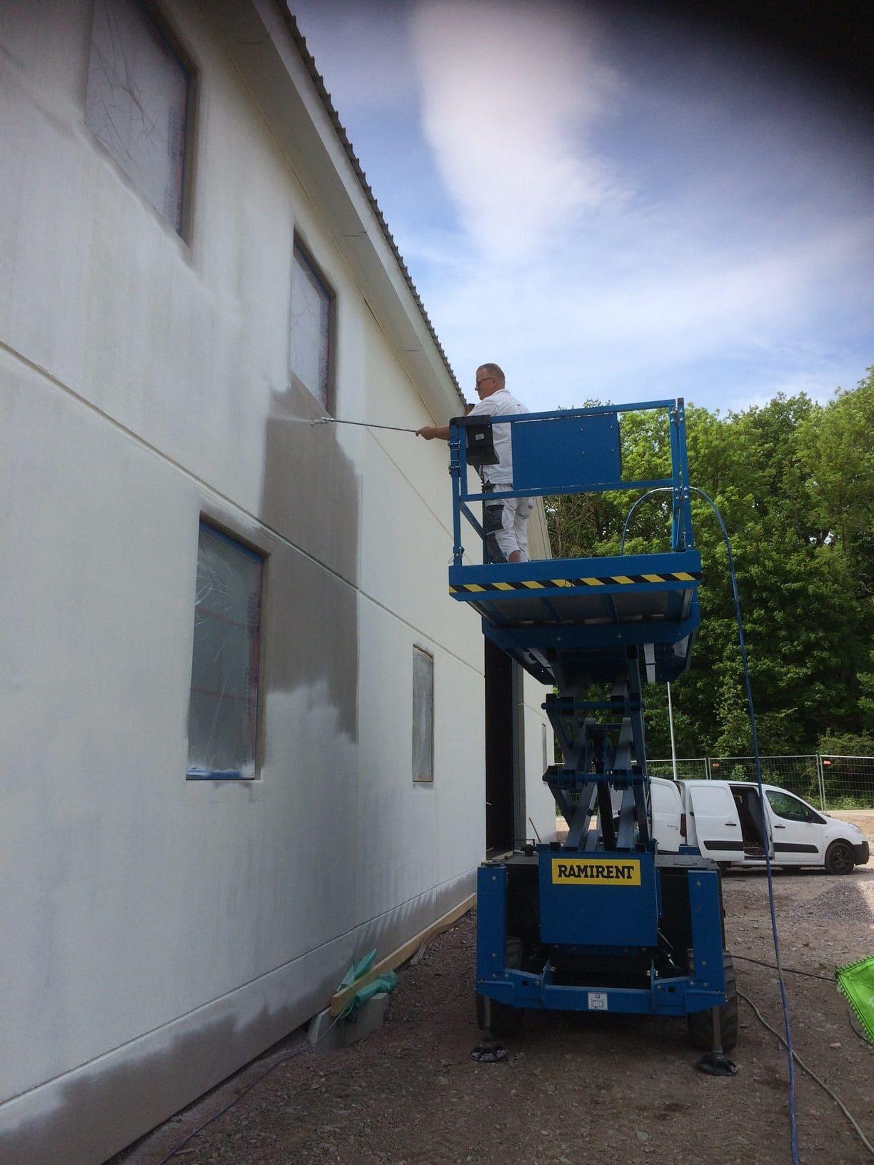 Allblästring Jälla gård målning betong betongytor blästring uppsala 06