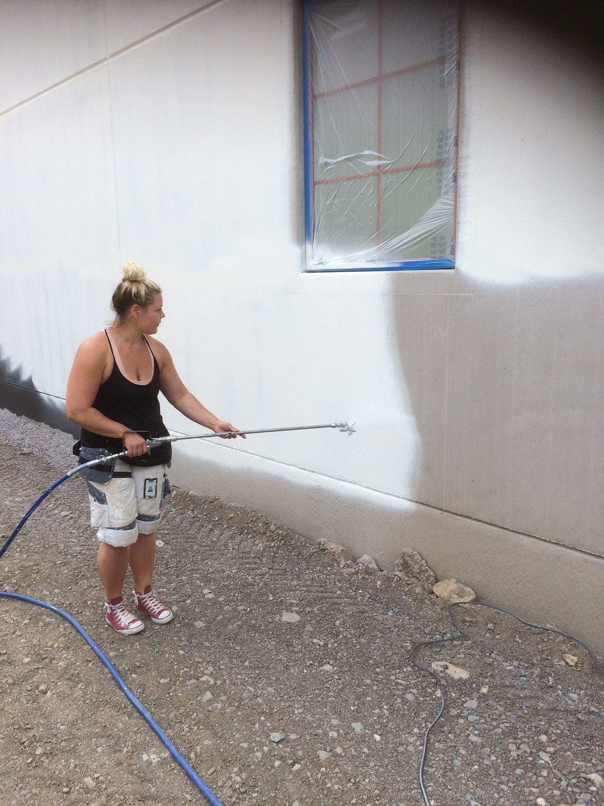 Allblästring Jälla gård målning betong betongytor blästring uppsala 07