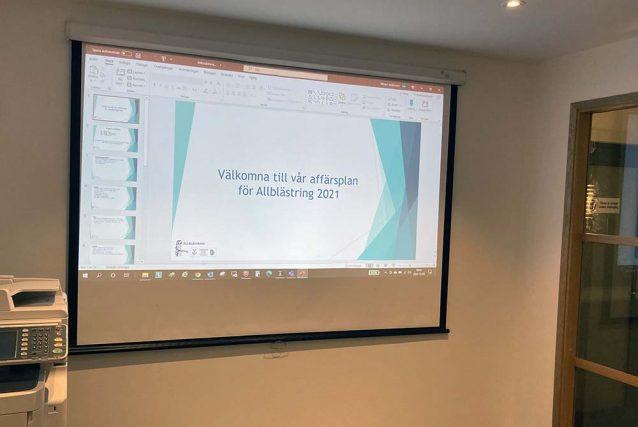 Allblästrings möte om Affärsplanen 2021