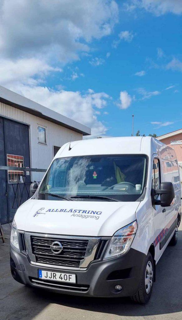 Anläggningsbilen kommer synas ute på våra Entreprenader runt om i Sverige.